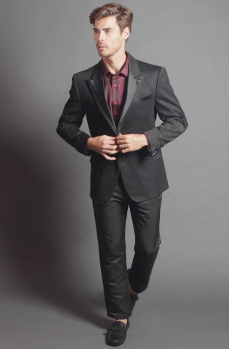 Mens Maestro Four-button Cuffs Designer Fashion Blazer On Sale