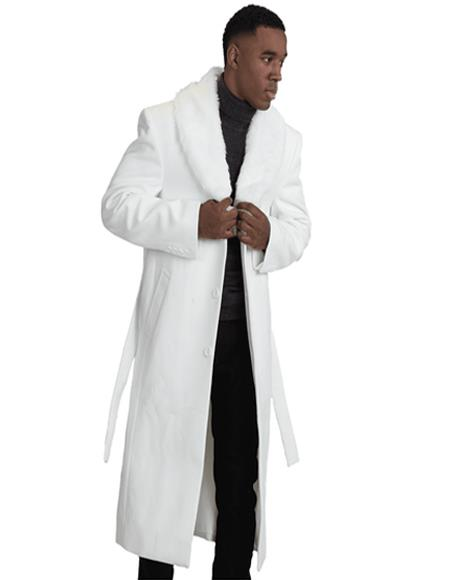 & Cashmere Overcoat With