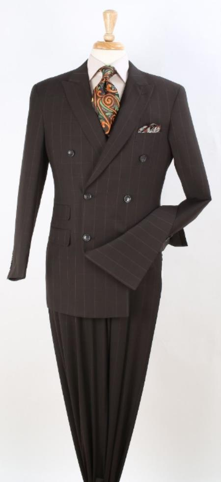 Breasted Notch Lapel Suit