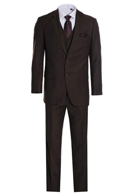 2 Button Vested Suit