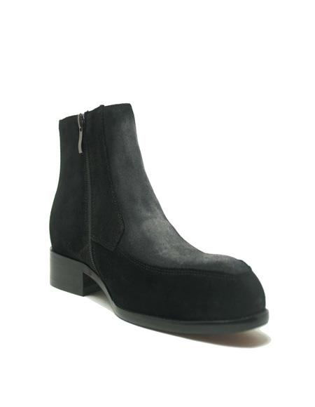 Suede Chelsea Boots In