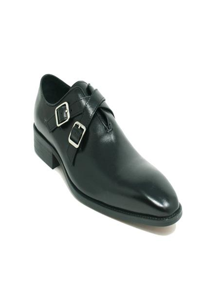 Strap Leather Loafer In