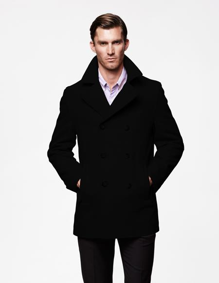 Mens Peacoat Available November 15 + Black