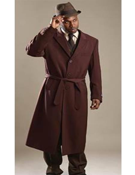 Wine One Button Single Breasted Shawl Lapel  Suit for Mens