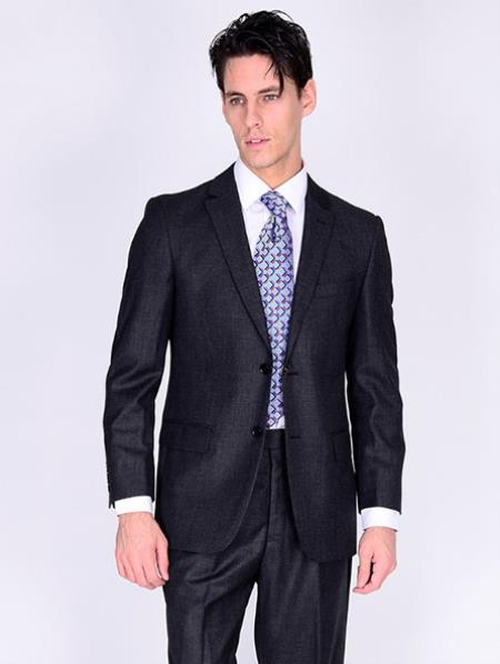 Suit-Solid Gray