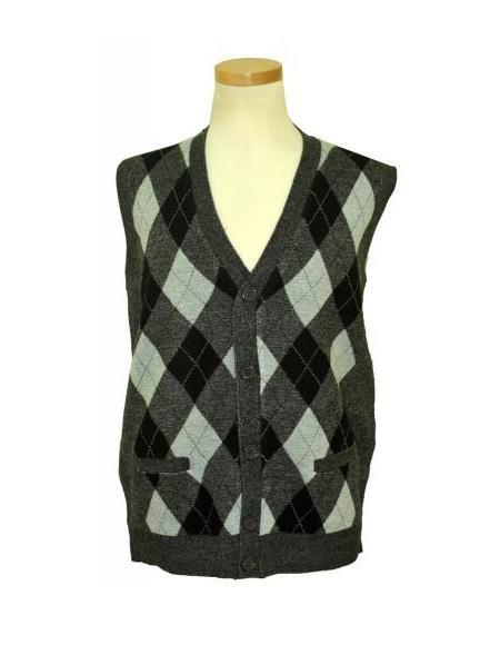 V-Neck Sweater Vest In