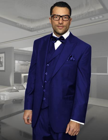 Navy 3 piece executive
