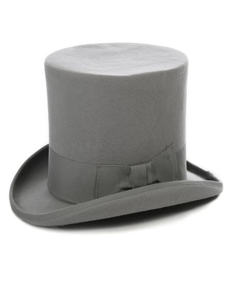 Premium Wool Top Hat