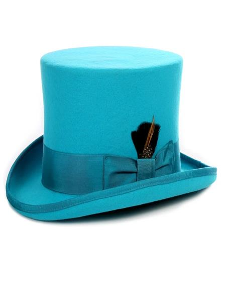 Turquoise Top Hat