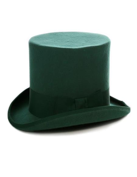 Hunter Green Top Hat