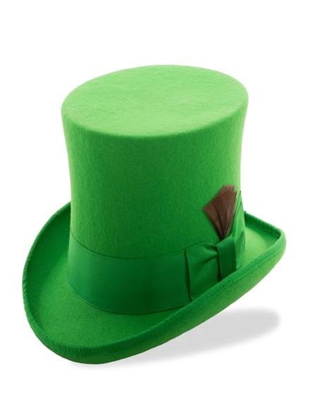Kelly Green Top Hat