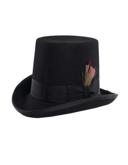 Short Pilgrim Top Hat