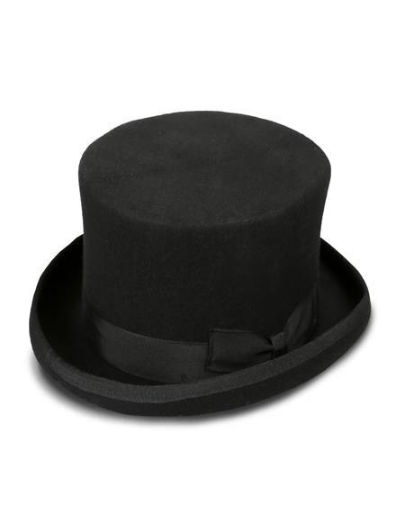 Black Stout Top Hat