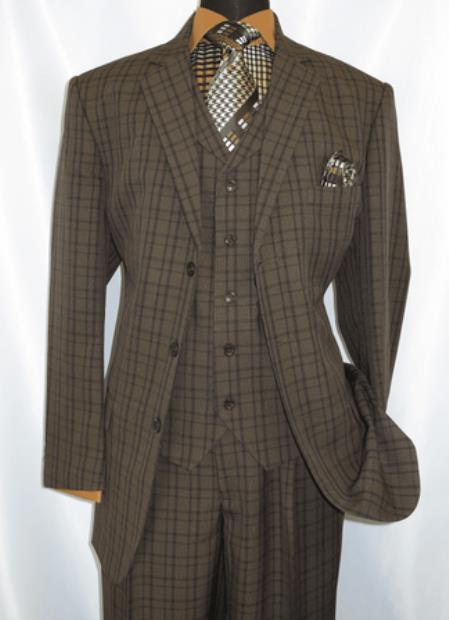 3 Piece Suit Mens