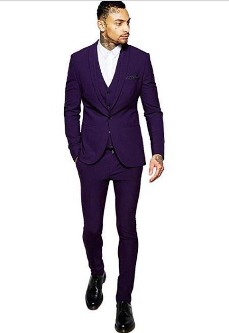 Vested Suit