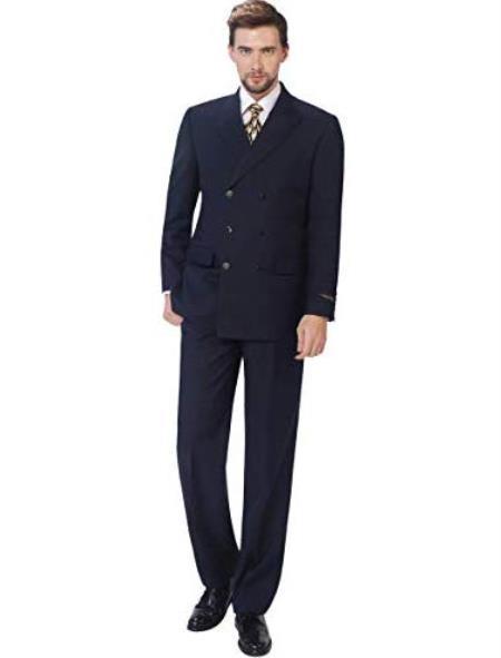 Classic Fit Suit Double