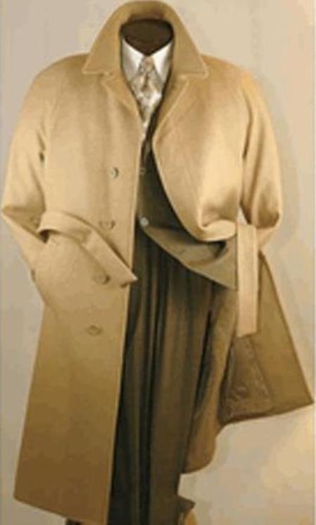 Mens Full Length Wool