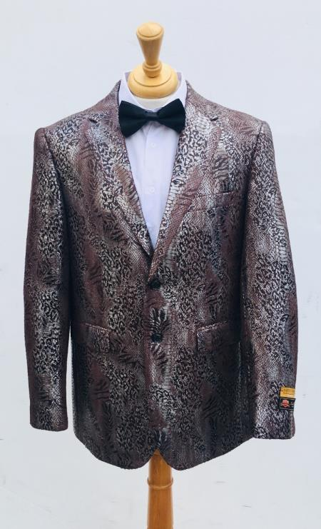 Mens Blazer Brown
