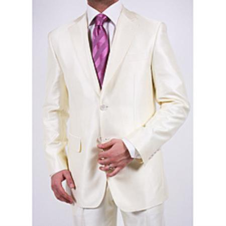 Graduation Suit For Boy / Guys Off White