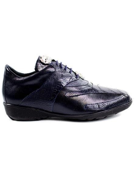 Black Discounted Cheap Priced Belvedere Sneakers