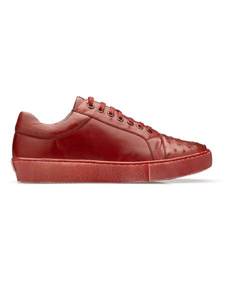Belvedere Sneakers in Antique Red