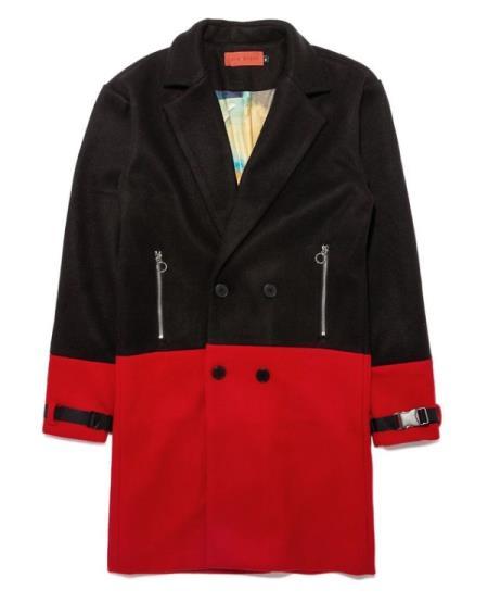 Tone Overcoat Black