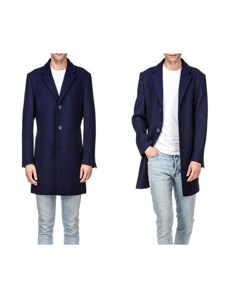 warmth Comfortable Wool Peacoat