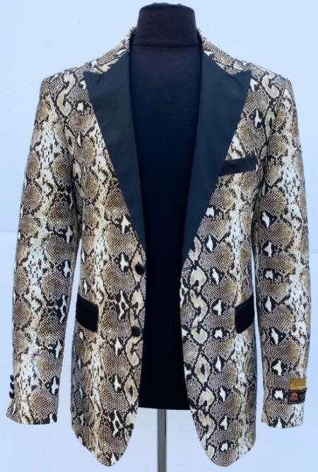 Python Sport Jacket Blazer
