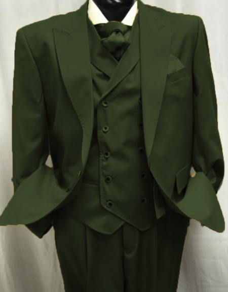 Peak Lapel Suit Perfect