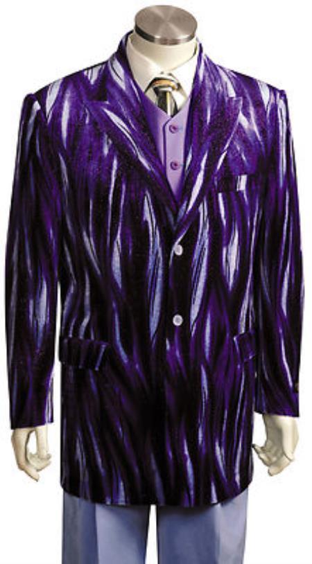 Jacket Mens Entertainer Purple