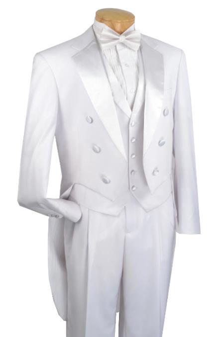 Tuxedo With Lapelled Vest