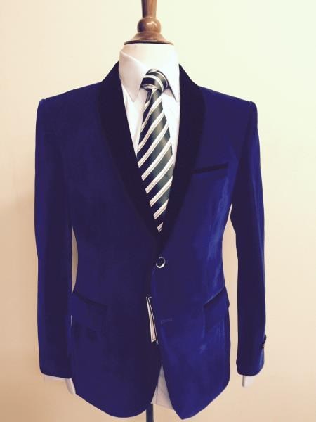 Jacket  Mens Velvet