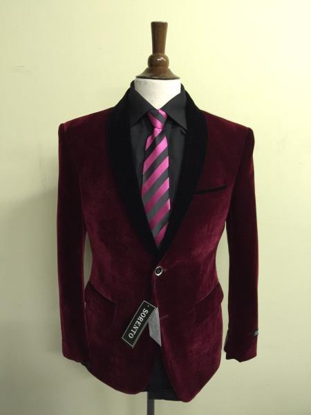Jacket Velour Fabric ~