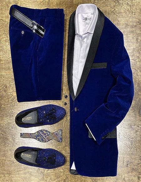 / Tuxedo Jacket and