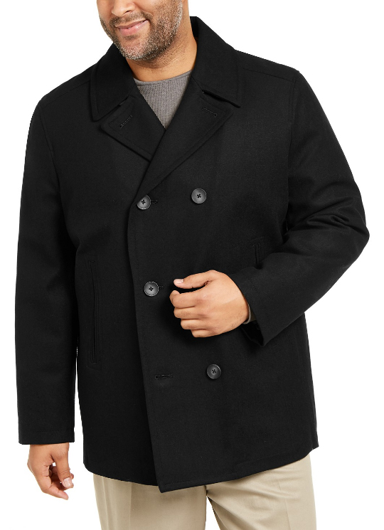 And Tall Wool Peacoat