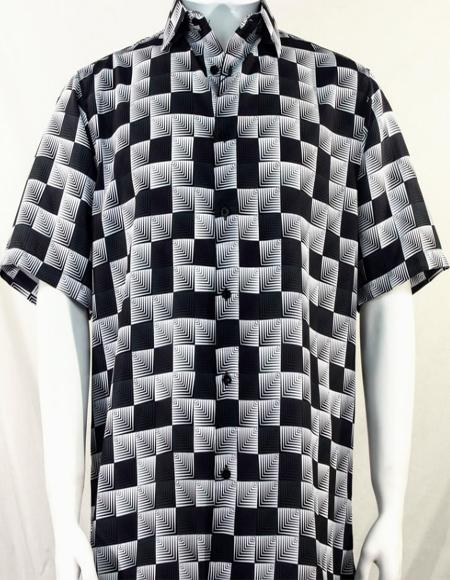 Dimension Squares Short Sleeve