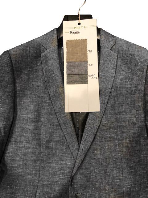 Summer Linen Blazer Gray