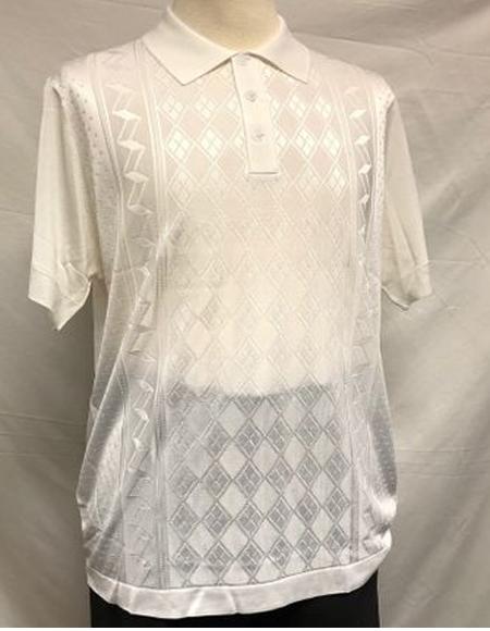 Italian Knit Shiny Polo