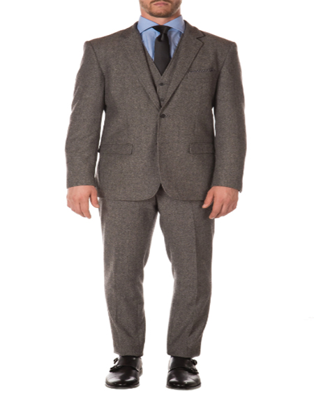 1920s 1910s Peak Blinder Custom Vested Suit Vintage Slim Fitted Blazer and Pants and Vest Grey