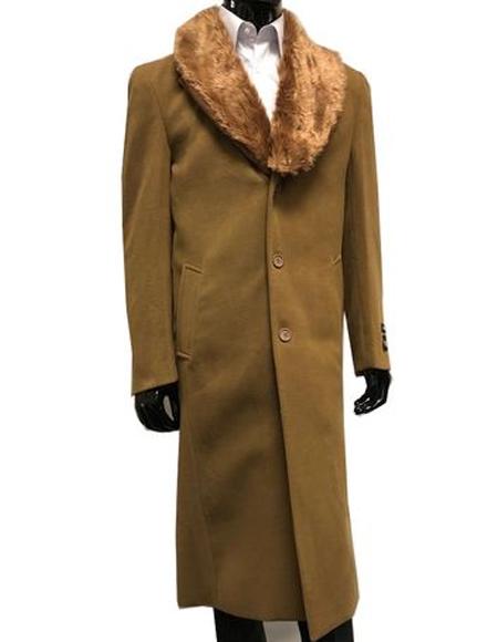 3 Button Closure Fur
