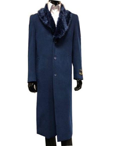 and Cashmere Overcoat With