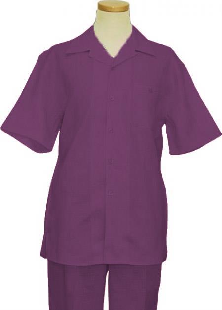 Suit Purple