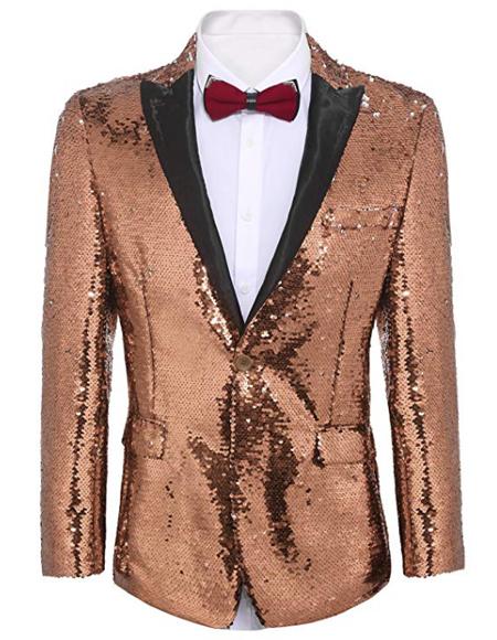 ~ Pink Tuxedo Gold