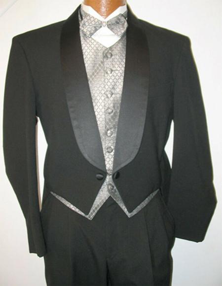 Wool Shawl Collar Regular