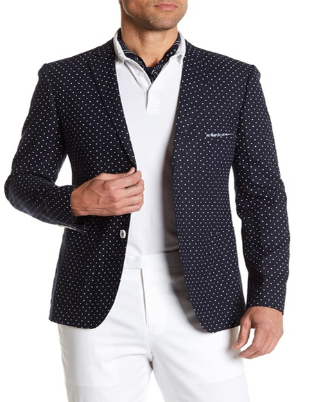 White Polka Dot Cotton