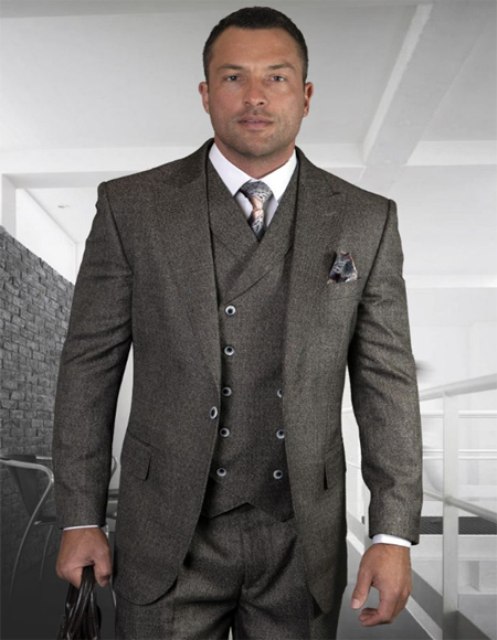 - Checkered Suit Charcoal