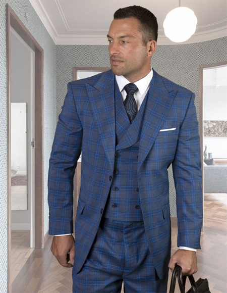 - Checkered Suit Sapphire