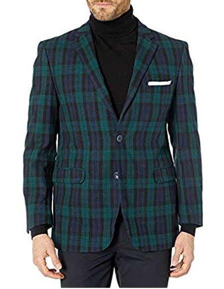 Checker Blazer Sport Coat