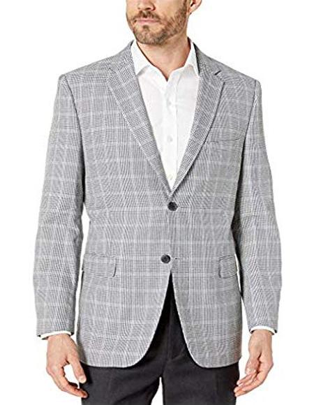 Checker Blazer Sport Coat