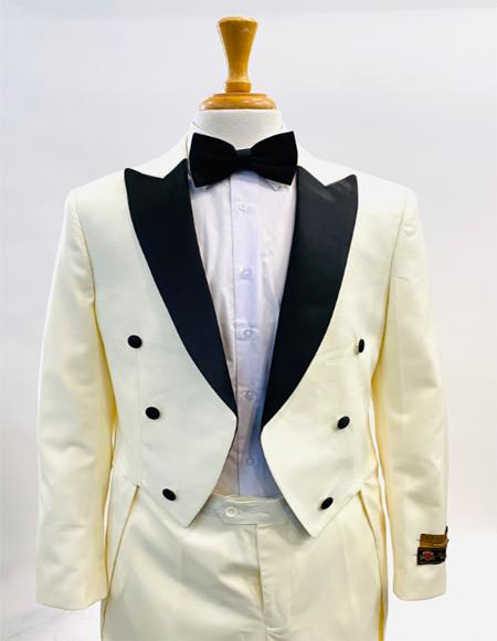 Fashion Tailcoat Tuxedo Morning